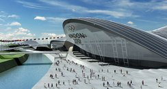london olympic aquatic centre