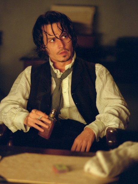 Johnny Depp as Jack the Ripper