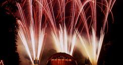 Warwick Castle Fireworks