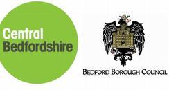 Bedfordshire council logos