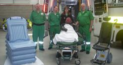 St John's Bariatric Ambulance