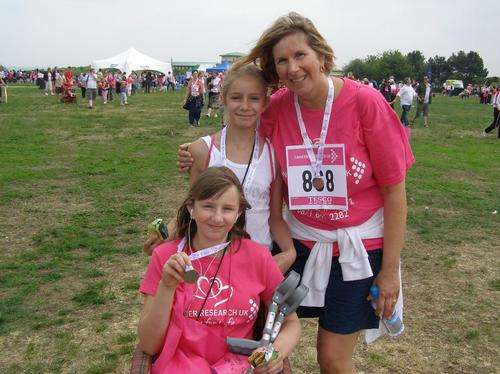 Race For Life MK Sunday 6/6/10 Post-Race Photos