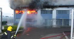 Andover Warehouse Fire