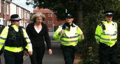 Theresa May is expected to get a tough time at The Police Federation's annual conference in Bournemouth