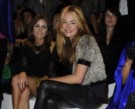 Celebrities at London Fashion Week