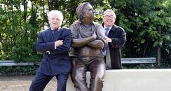 Ronnie Barker Statue in Aylesbury