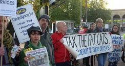 Cambridge Cuts Protest