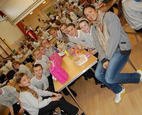 James and Gemmas School Dinner Tour