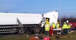 Huntingdon Tanker Crash
