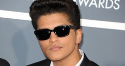 Bruno Mars at the Grammy Awards 2011