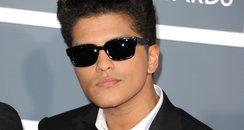 Bruno Mars at the Grammy Awards 2011
