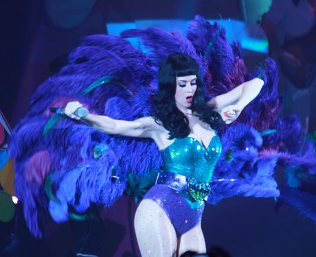 Katy Perry performing her 'Californian Dreams Tour