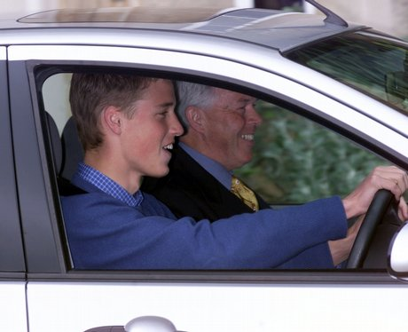 Prince William learns to drive