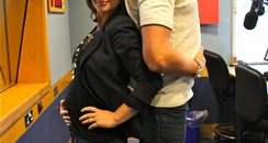 Jamie & Harriet compare bulges!