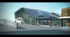 Reading Station artist's impression