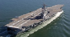 The USS George H W Bush