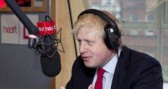 Boris Johnson Mayor Of London with Jamie Theakston