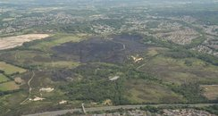 Land equivalent to 130 football pitches damaged
