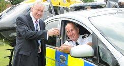 The Chief Constable gets Eco car keys
