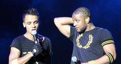 JLS @ Stadium MK Stage Photos