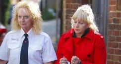 Lorraine Upritchard leaves court