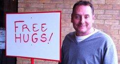 Kev Free Hugs