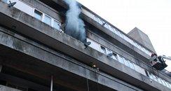 Fire At Wyndham Court