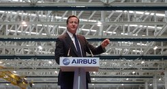 The Prime Minister opening new factory at Airbus
