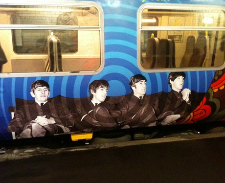 Beatles train