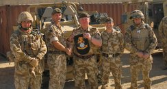 christmas present treats troops afghanistan mike