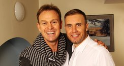 Jason Donovan and Gary Barlow