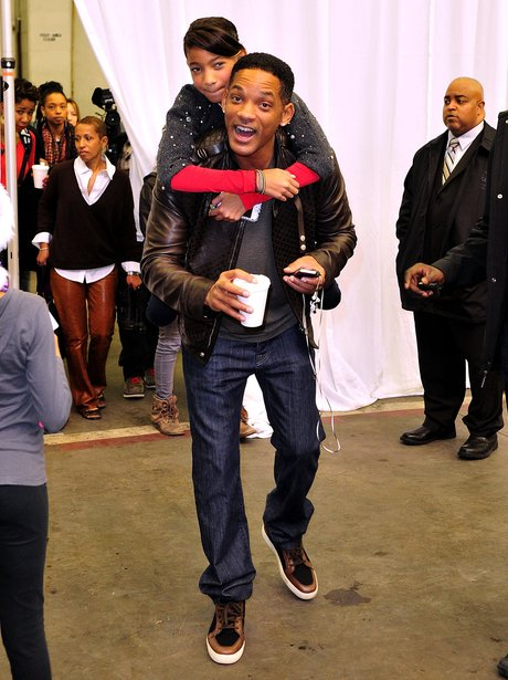 Will Smith and daughter Willow - 7 Days in Showbiz - Heart