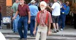 Granpa Shuffelin'
