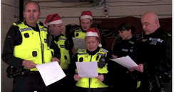 Hampshire Police Christmas message