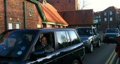 Duke of Edinburgh Leaving Hospital