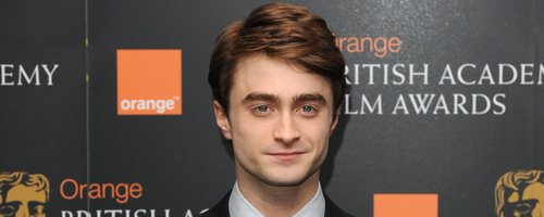 Daniel Radcliffe at the BAFTA nominations