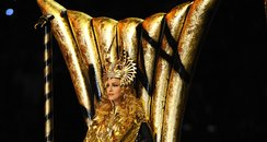 Madonna Super Bowl throne