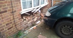 Car Smashes Through House In Hemel