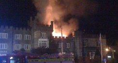 Ryde Castle Hotel fire