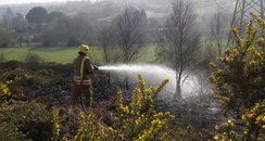 Talbot Heath fire
