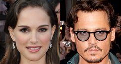 Natalie Portman and Johnny Depp