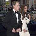 Duke and Duchess of Cambridge at Claridge's