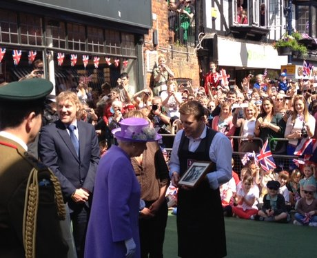 Queen in Hitchin