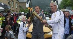 Isham Olympic Torch