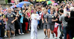 Olympic Torch Day 47: Peterborough City Centre