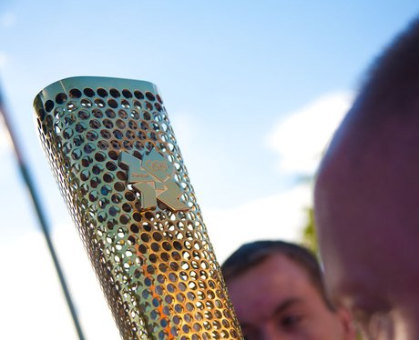 Olympic Torch in Norwich