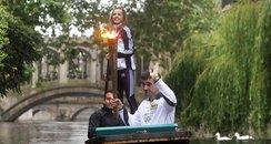 Torch Relay: Cambridge