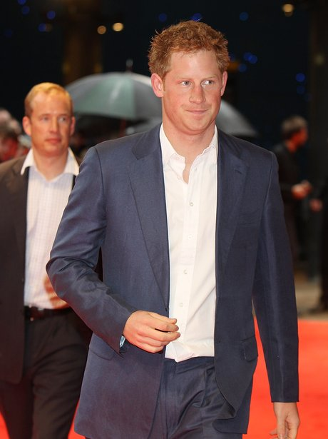 Prince Harry 'The Dark Kinght Rises' Premiere