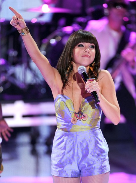 Carly Rae Jepsen performs