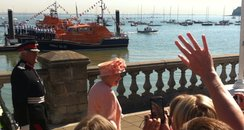 The Queen Visits Cowes